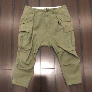 NLST Harem Pants Army Green Size 25